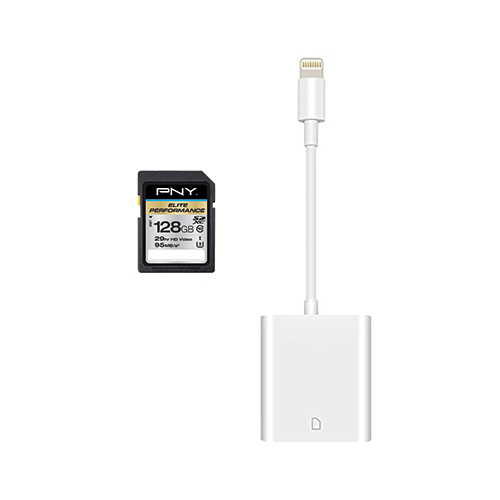 iPhone SD Memory card reader